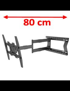 DQ Wall-Support Hercules 2.0 80 cm Flex 400 TV Beugel
