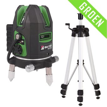 Beiter WP51G Lijnlaser groen met 5 laserlijnen