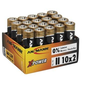 ANSMANN 20x AA Alkaline X-Power