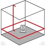 Lasers met 360° lijnen