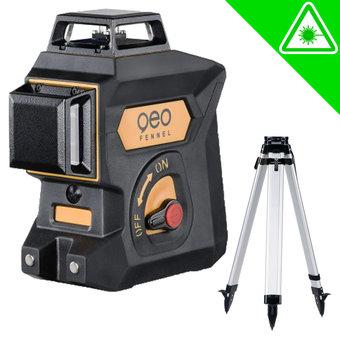 Geo Fennel Geo6X Green KIT 3x360° Lijnlaser