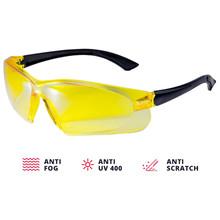 ADA CONTRAST Veiligheidsbril Geel