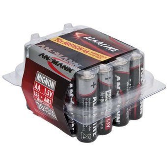 ANSMANN 20X AA Batterij Alkaline