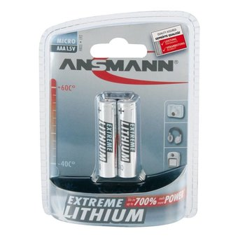 Ansmann 2x AAA Extreme  Lithium Blister