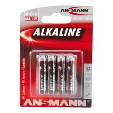 Ansmann 4X AAA Batterij Alkaline Blister