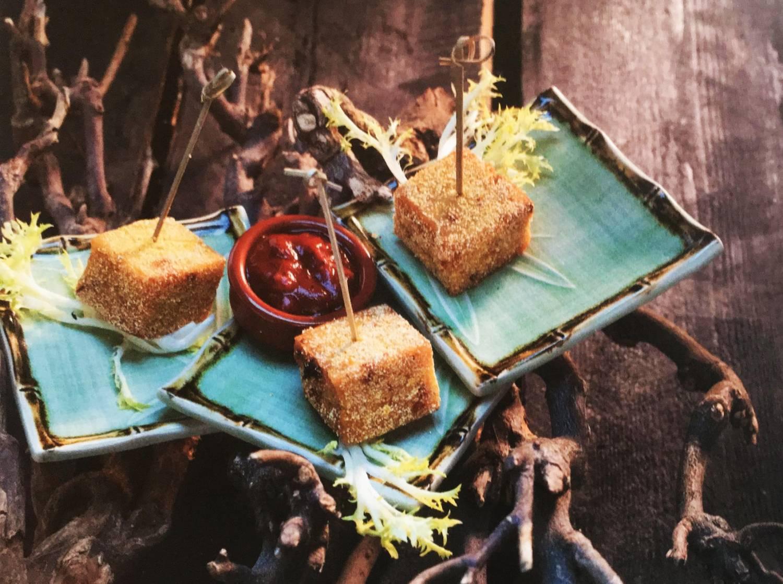 Koken met thee: Polenta in Sencha groene thee