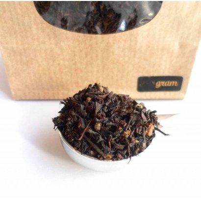 Van Bruggen Thee Zwarte Chai Gember - Zwarte thee