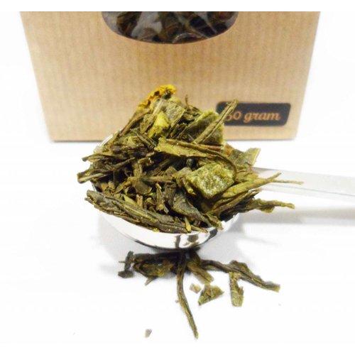Van Bruggen Thee Sencha Yuzu - Groene thee