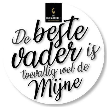 van Bruggen thee 'De beste vader is toevallig wel de mijne'cadeaupakket