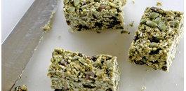 Recept voor een heerlijke Matcha snackreep!