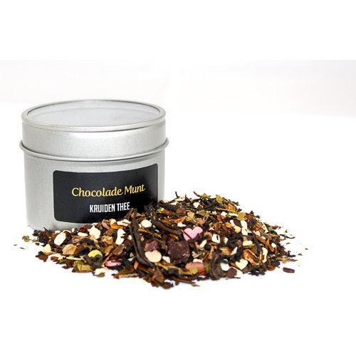 Van Bruggen Thee Chocolade Munt - Kruidenthee