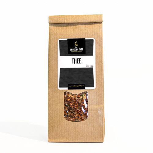 van Bruggen thee Valentijns theeblik groot met zakje thee 100 gram