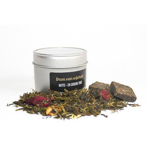 van Bruggen thee Bron van Wijsheid losse witte thee