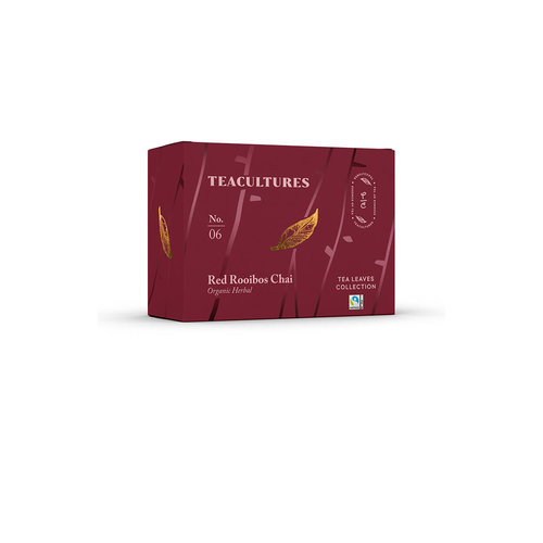 Teacultures Red Rooibos Chai verpakte thee