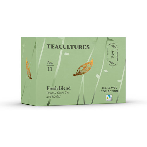 Teacultures Fresh Blend verpakte thee