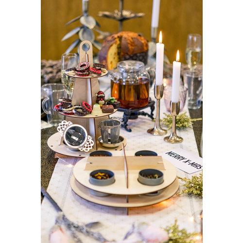 van Bruggen thee Houten High-Tea 5laags