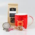 van Bruggen thee Kerst geschenkset met mok en theebal