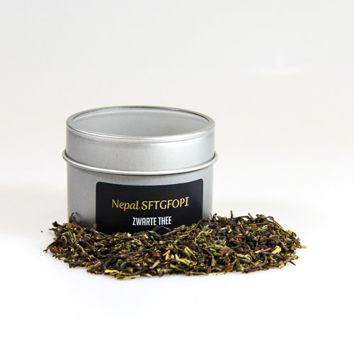 van Bruggen thee Nepal SFTGFOP1 zwarte losse thee