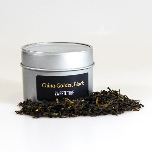 van Bruggen thee China Golden Black zwarte losse thee