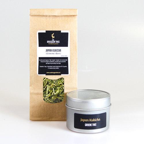 van Bruggen thee Japan Kukicha groene losse thee