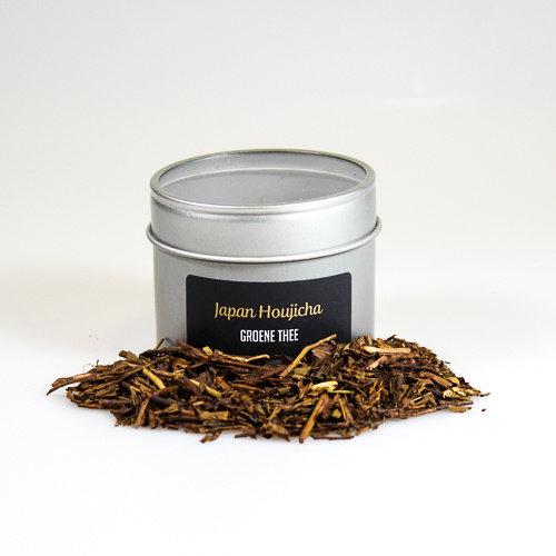 van Bruggen thee Japan Houjicha groen losse thee