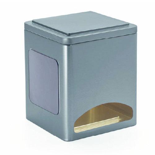 """Thee Dispenser """"Horeca"""" voor zakjes met magneet"""