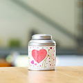 van Bruggen thee Moederdag cadeau 3 blikken met rek