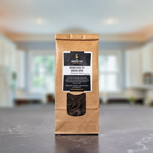 van Bruggen thee Organic Japan Black tea Benifuki Oolong