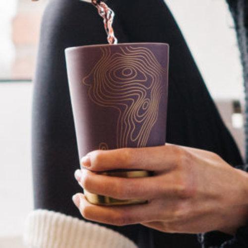 EigenArt Tea eve purple metal mok