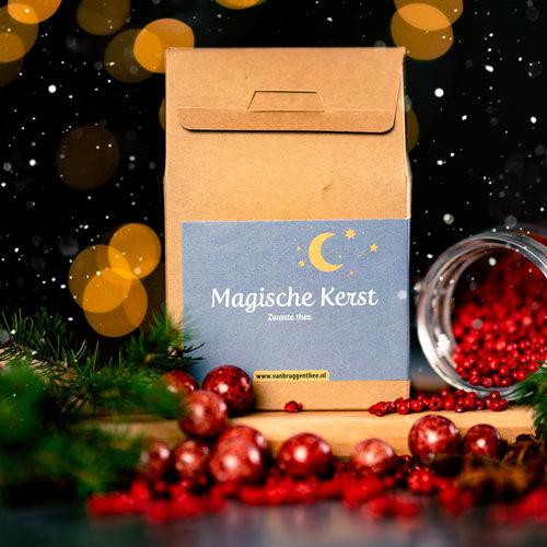 van Bruggen thee Magische kerst cadeauhuisje  losse thee