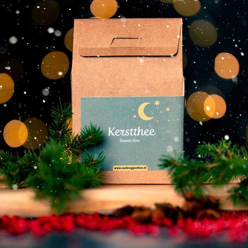 van Bruggen thee Kerst  cadeauhuisje  losse thee