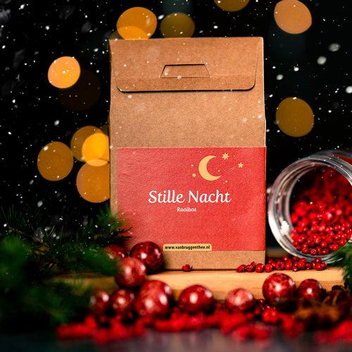 van Bruggen thee Stille nacht cadeauhuisje  losse thee