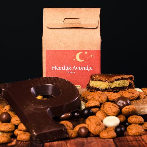 van Bruggen thee Heerlijk avondje cadeaushuisje losse thee