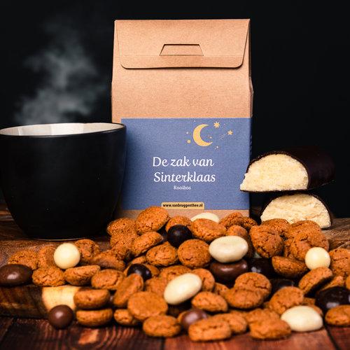 van Bruggen thee De zak van Sinterklaas cadeauhuisje losse thee