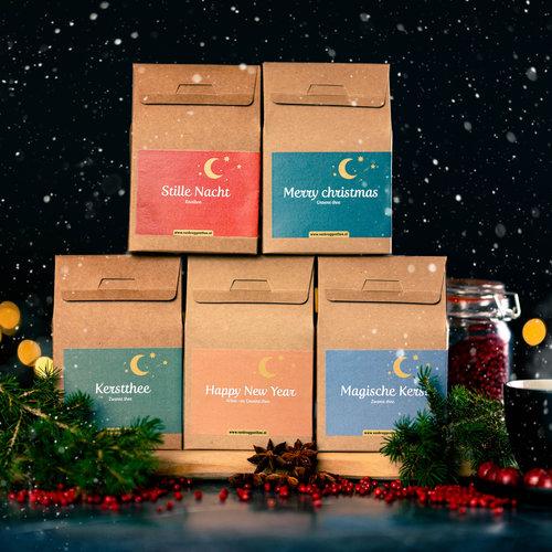 van Bruggen thee Kerst cadeauset  losse thee