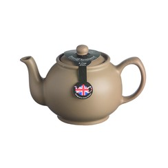 Theepot 1.1L mat taupe