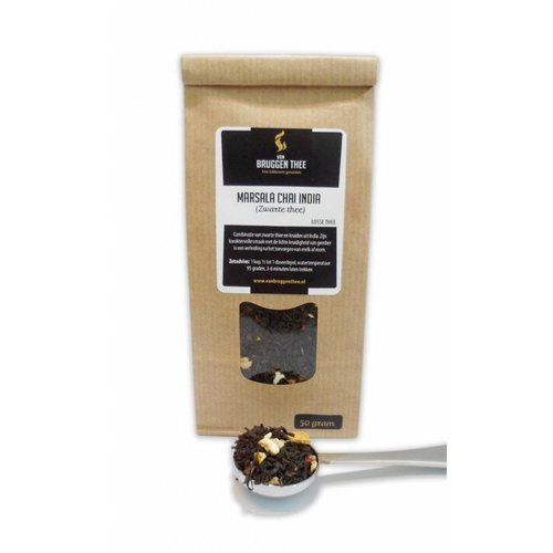 Van Bruggen Thee Masala Chai India - Zwarte thee
