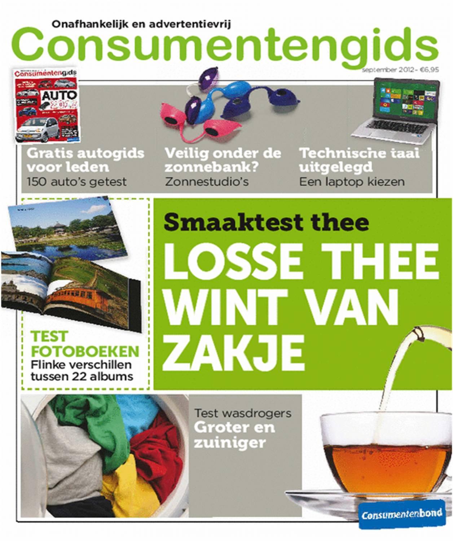 Panel van Consumentenbond waardeert smaak van losse thee het hoogst