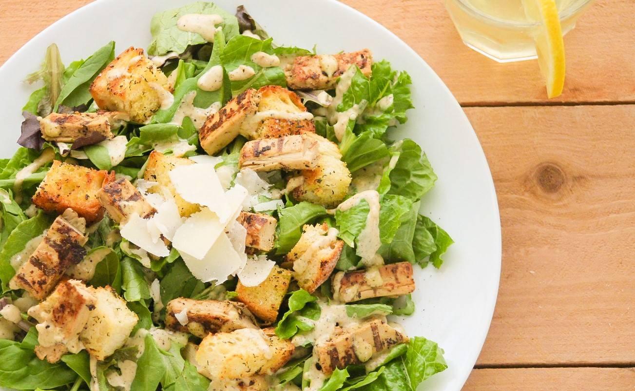 Koken met thee: Caesar Salad