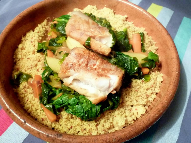 Koken met thee: frisse couscous