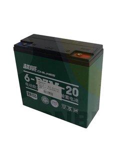 Actionbikes Batterie 12V-20AH (6-DZM-20AH)