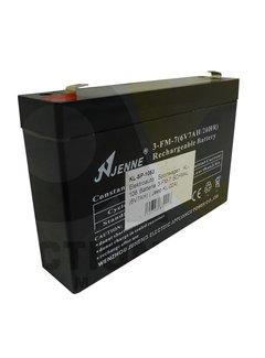 Actionbikes Batterie 3FM7 SCHMAL (6V7AH)