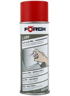 Förch Lackspray L220 Feuerrot Seidenglänzend RAL3000