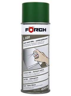 Förch Lackspray L220 Smaragdgrün Seidenglänzend RAL6001