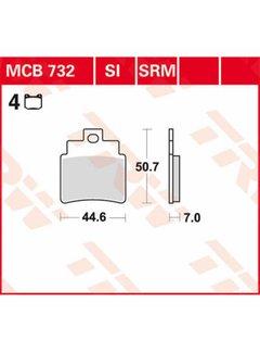 TRW Lucas Bremsbelege MCB732