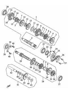 Access Getriebe