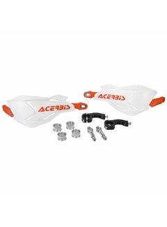 Acerbis HANDSCHALEN X-FACTORY WEISS/ORANGE, INKL. ANBAUKIT