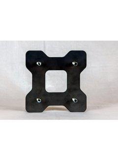 Adapterplatte kurz für KuMa Toolprotect - Motorsägenhalterung
