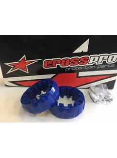 CrossPro Spurverbreiterung blau hinten 45mm LK 4/115 & 4/110