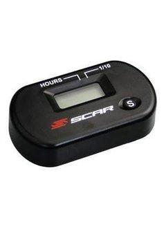 SCAR-RACING Wireless Vibration Stunden Zähler